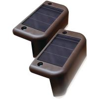 Maxsa Innovations 47332 Solar-Powered Deck Light