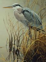 Outset Media Games Great Blue Heron 500 piece Puzzle