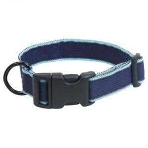 Paww Secret Agent Dog Collar - Medium, Blue