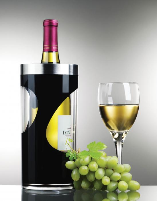 Prodyne A903B Two Tone Wine Cooler, Black