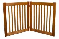 Two Panel EZ Pet Gate - Small/Artisan Bronze