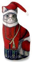 Fiddler's Elbow Santa Kitty Doorstop
