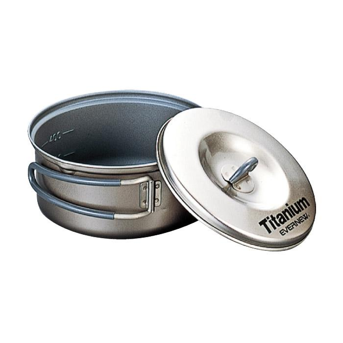 Evernew Titanium Nonstick Pot  0.6 L
