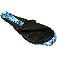 Ledge River Jr 0 Degree Youth Mummy Sleeping Bag, Blue