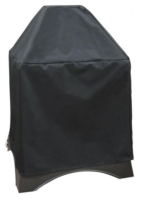 Landmann Grandezza Polyester w/ PVC Fire Place Cover, Black