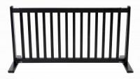 Large Free Standing Pet Gate - Black