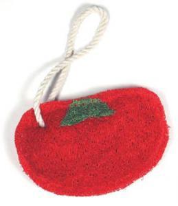 Loofah Art Tomato
