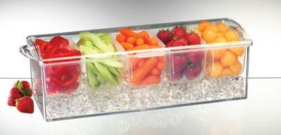 Prodyne Acrylic Condiments On Ice
