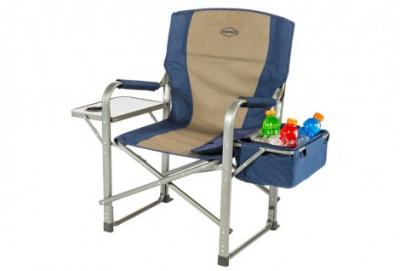 Director's Chair With Side Table and Cooler