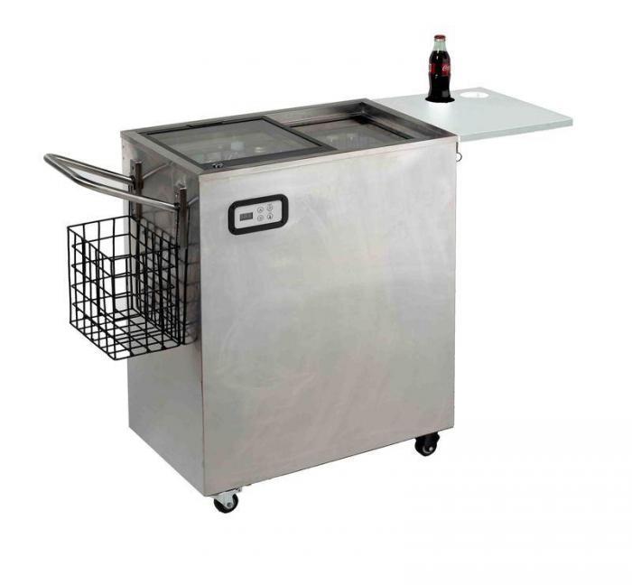 Avanti Portable Outdoor Steel Beverage Cooler - 2.5Cf