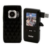 Vivitar 8.1MP HD Camcorder Black