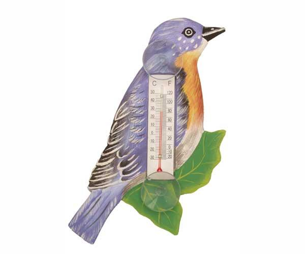 Bobbo Bluebird/Branch Thermometer Small