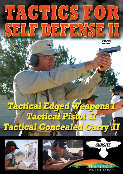 Stoney-Wolf Tactics for Self Defense 2 (Triple Feature) DVD - Gun Site Academy