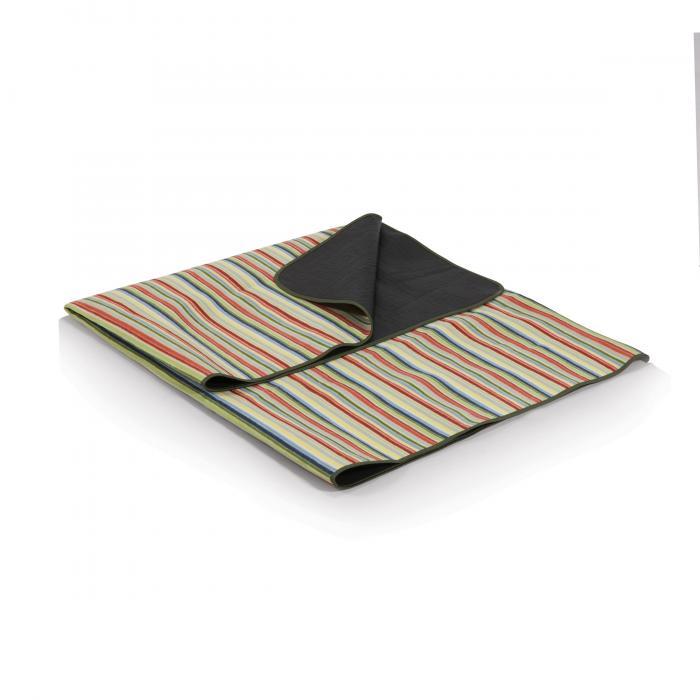 Picnic Time Blanket Tote, Riviera Stripes