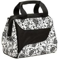 Fit & Fresh Zebra Print Lunch Bag With Ice Pack