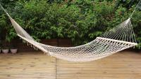 Stansport Acapulco Cotton Hammock - Single - 78 Inch X 47 Inch