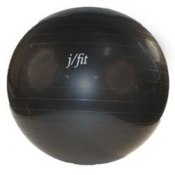 J/Fit Stability Exercise Ball 85 cm with Pump, Black
