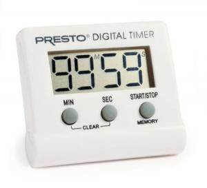 Food Thermometers & Timers by Presto