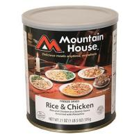 Mountain House Rice & Chicken - 8 One Cup Servings