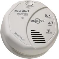 First Alert ONELINK Battery-Operated Combination Smoke & Carbon Monoxide Alarm w/ Voice Location