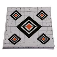 Paper Target Black Diamond 10X10 10Pk