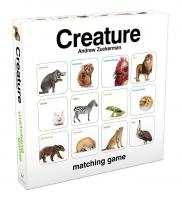 Chronicle Books Creature Matching Game