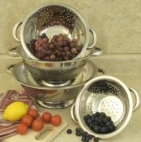 Cookpro 4 Pc Stainless Steel Colander Set