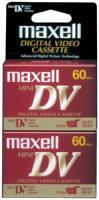 Maxell 298012 Mini Digital Video Tape - 60 min, 2-Pack