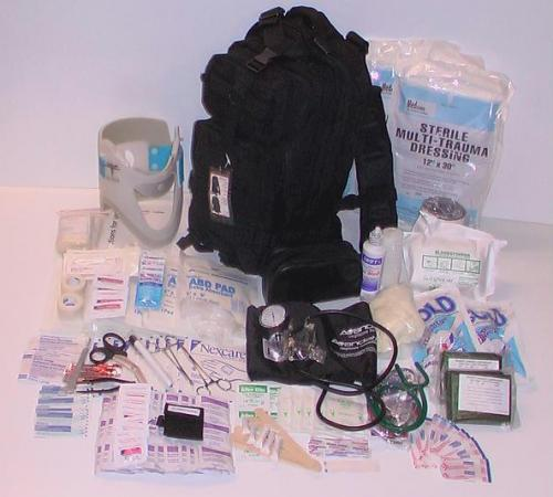 Elite First Aid First Aid - Trauma Kit #3, Black