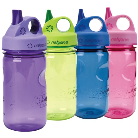 Nalgene Tritan Grip-n-gulp Spring Green Water Bottle