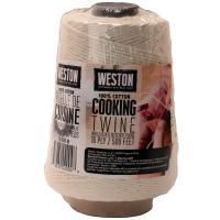 CookingTwineCone 500' 16ply NaturalCotton