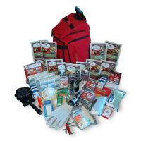 Wise Company Deluxe Survival Backpack (RED)
