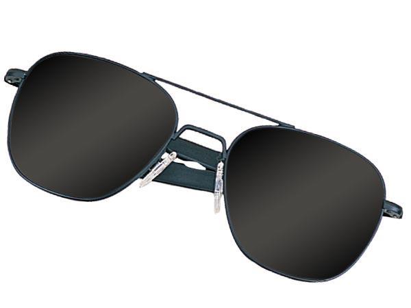 Humvee Tactical Sunglasses Black Frame 52mm