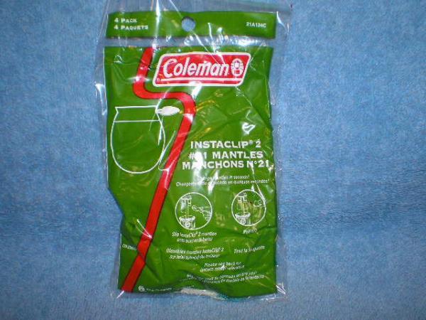 Coleman Mantle Insta-Clip 4pk