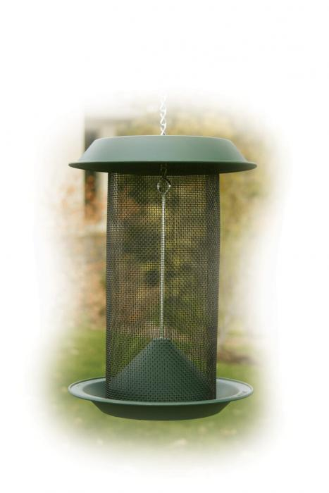 Woodlink 4 Quart Magnum Thistle Mesh Tube Bird Feeder