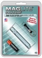 MagLite - Solitaire Flashlight Gray Hanging Pack