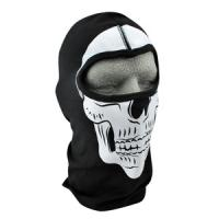 Cold Weather Headwear Cotton Balaclava, Skull