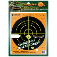 "Caldwell Orange Peel 8"" bulls-eye: 100 sheets"