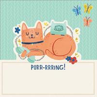 Chronicle Books Cat Shaped Memo Pad