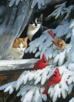Outset Media Games Bird Watchers 1000 piece Puzzle