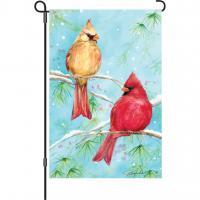 Premier Designs Winter Cardinal Garden Flag