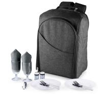 Picnic Time Colorado Picnic Backpack for 2 (Grey)
