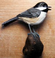 Songbird Essentials Chickadee Table Piece