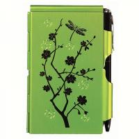 Wellspring Flip Note Natural Elements Lime Blossoms