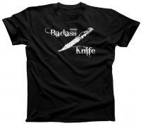 """Knife Depot """"Badass Knife"""" T-Shirt (Unisex)"""