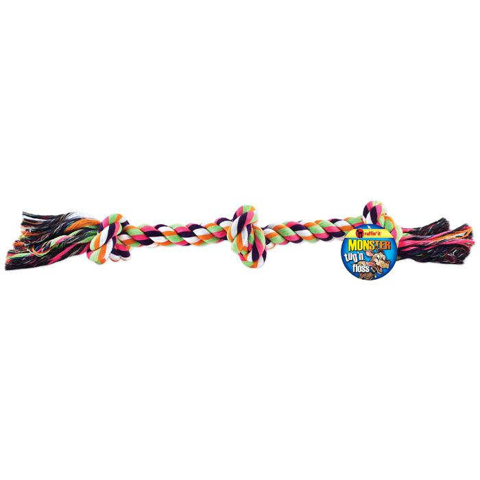 Ruffin' It Pet Products Monster Tug 'n Floss Rope