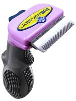 DeShedder Cat Brush For Short Hair Small Cats