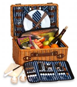 Picnic Baskets for 4 by Picnic Plus