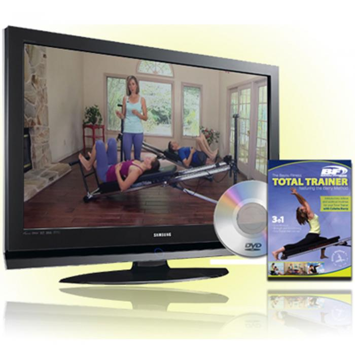 Bayou Fitness Total Trainer DVD Featuring the Barry-Method