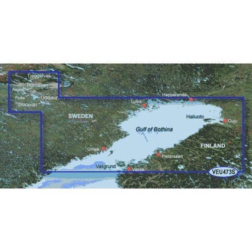 Garmin Bluechart Software, Gulf of Bothnia, North